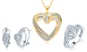 Diamond Accent Jewelry by Brilliant Diamond at Diamond Accent Jewelry by Brilliant Diamond, plus 9.0% Cash Back from Ebates.