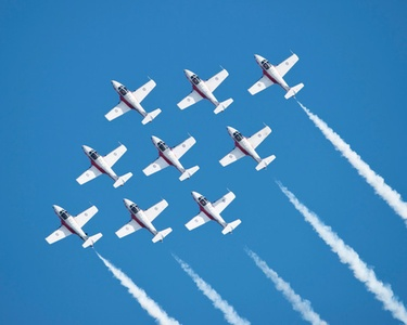 Oregon International Air Show on September 28 at 5:30 p.m., September 29 at 9 a.m., or September 30 at 9 a.m.