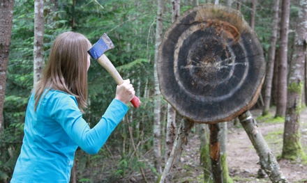 Knife- or Axe-Throwing Class for Two or Four at Silver Swords Armouries (Up to 68% Off)