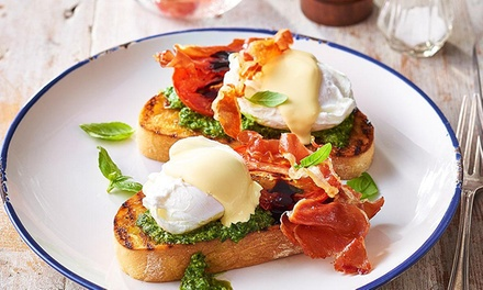 Choice of Breakfast with Tea or Coffee for One ($10) or Two People ($20) at The Allotment Cafe (Up to $38 Value)