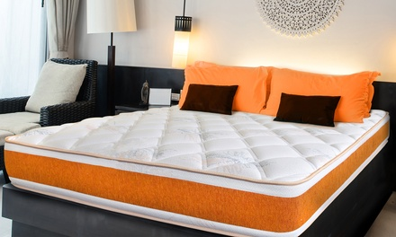 jusqu 39 84 matelas m moire de forme nupsia groupon. Black Bedroom Furniture Sets. Home Design Ideas
