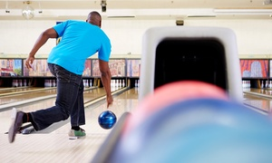 St. Charles Lanes: Two Games of Bowling with Shoe Rental and Pizza for Four or Eight at St. Charles Lanes (Up to 56% Off)