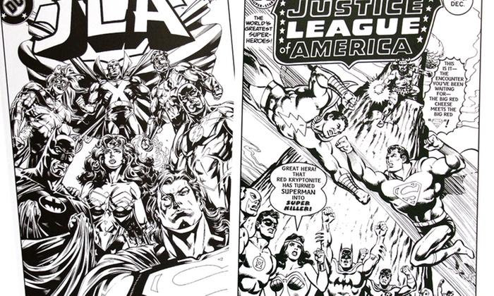 DC Comics Coloring Books | Groupon