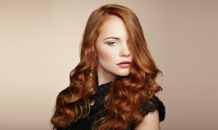 Wash and Blow-Dry ($19) with Cut ($29) Plus Tint ($59) or Half-Head Foils ($69) at DFK Hair Studio (Up to $165 Value)