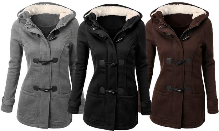 a2f59182178e Veste pour femme en coton mélangé   Groupon Shopping