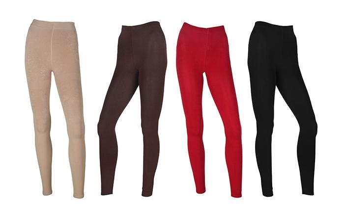 """ס.ב.ב.א גרופ בע""""מ - Merchandising (IL): מכנסי טייץ תרמיים עם בטנת פליז רכה ונעימה ב-8 צבעים לבחירה"""
