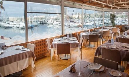 Menú degustación cena para dos a elegir entre básico y premium desde 39 € en Dársena