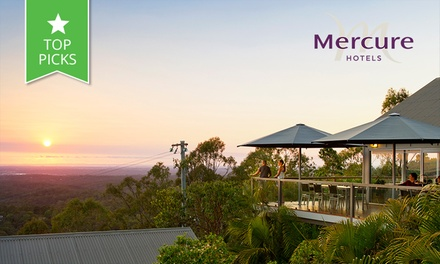 Clear Mountain: From $159 for a Getaway + Breaky, Wine + Spa Voucher at Mercure Clear Mountain Lodge - Queensland