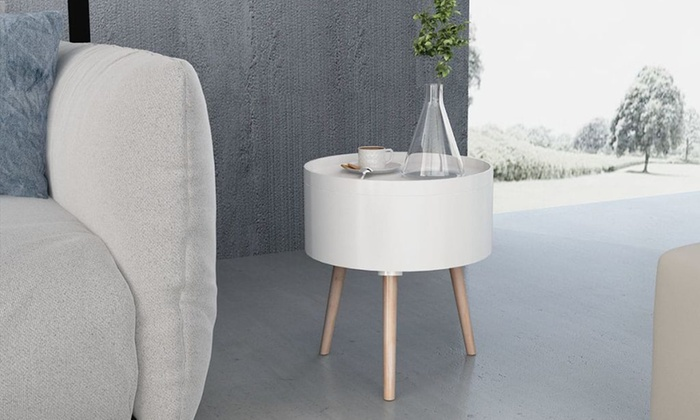 Round Side Table with Serving Tray from £36.95