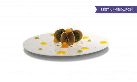 Menu Voyage avec une entrée, un plat et un dessert au choix pour 2 à 93 € au restaurant étoilé Le 7ème Continent