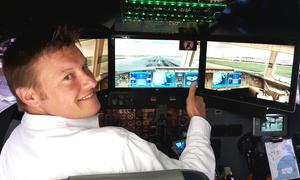 Helicopter Tours McFuntastic GmbH: 30, 45 od. 60 Min. Flugsimulator-Erlebnis in der Boeing 777 bei Helicopter Tours McFuntastic (bis zu 54% sparen*)