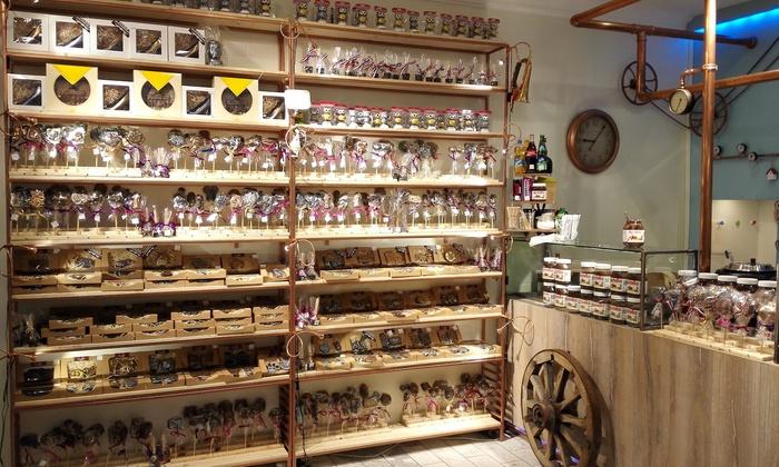 Schokoladen-Workshop für 1, 2, 4, 10 oder 20 Personen in der Schoko-Kreativ-Fabrik (bis zu 61% sparen*)