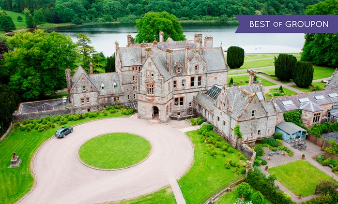 Monaghan: 1 or 2 Nights for Two with Breakfast, Bubbly, Chocolates and Resort Credit at 5* Castle Leslie Estate