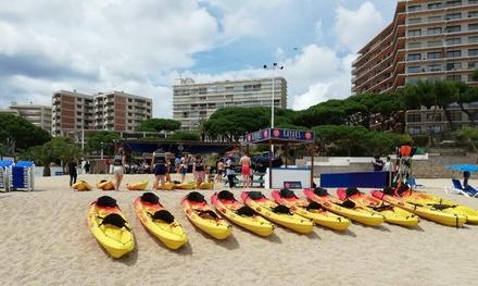 Excursión en kayak y snorkel para 2 o 4 personas con o sin guía desde 19,99 € en Kayak and Paddle Surf Cavall Bernat