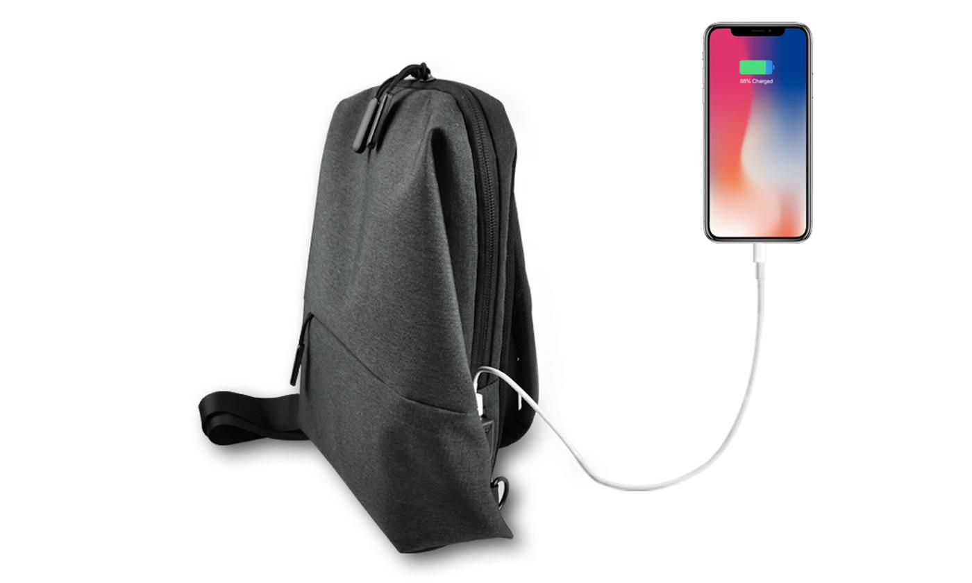 Apachie Sling Bag with USB Charger