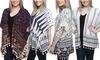 Tassel Fringe Women's Kimono: Tassel Fringe Women's Kimono