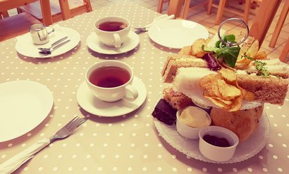 image for Afternoon Tea for Two or Four at Kells Kitchen (50% Off)
