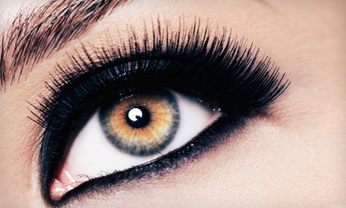 Brow & Beauty Bar - El Camino Real: Eyelash Extensions with Option of One or Two Replacement Eyelash Fills at Brow & Beauty Bar (Up to 54% Off)