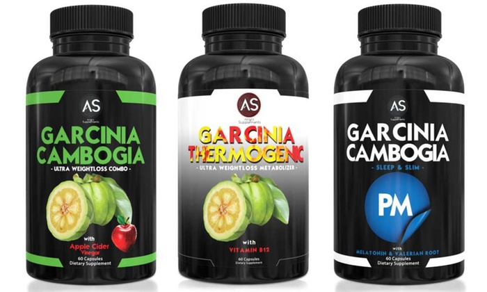 Angry Supplements Garcinia Cambogia With Apple Cider Vinegar Garcinia Thermogenic And Garcinia Pm 3 Pack