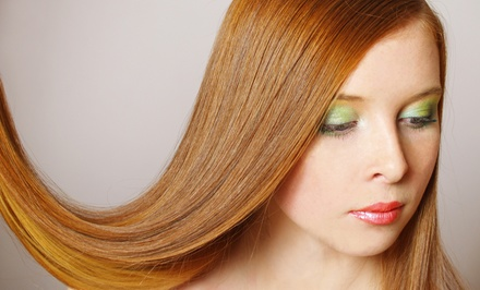$89 for a Haircut, Style, Conditioning, and Color or Highlights at Morpheus for Hair and Skin (Up to $185 Total Value)