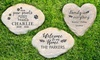 Up to 56% Off Custom Engraved Large Garden Stone