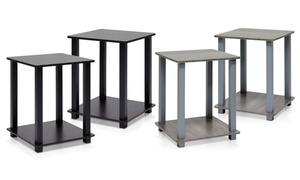 Furinno Simplistic End Table Set (2-Pack)