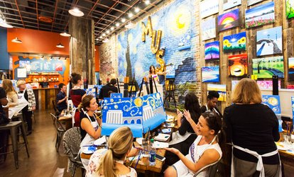 Up to 56% Off Painting Experiences at Muse Paintbar
