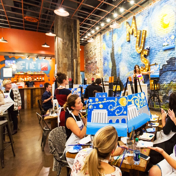 Muse Paintbar is a Painting Class, Party, and Night Out at a Bar (4.5 stars)