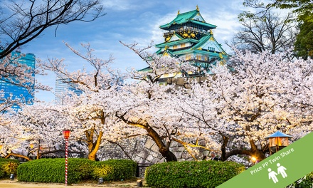 Japan: From $1,799 Per Person for a 6-Night Tour of Osaka, Kyoto & Tokyo with Sightseeing and Meals