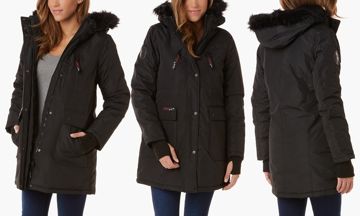 43574b50d Canada Weather Gear Women's Heavyweight Parka (Size M) | Groupon