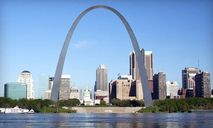 St. Louis Fun Tours - St. Louis: 75-Minute City Trolley Tour for One of Two from St. Louis Fun Tours (Up to 53% Off)