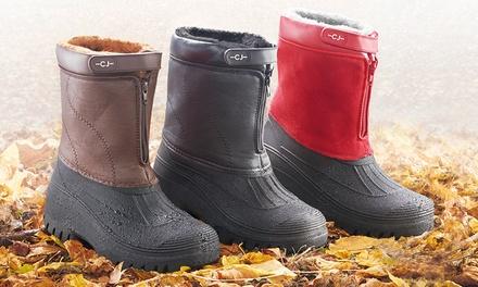 Unisex FleeceLined AllWeather or Snow Boots