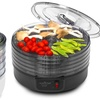 NutriChef Electric Countertop Food Dehydrator