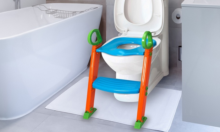 Wondrous Up To 68 Off On Kids Potty Training Seat Set Groupon Goods Creativecarmelina Interior Chair Design Creativecarmelinacom
