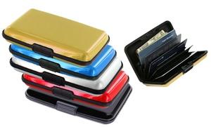 Traveler's RFID-Blocking Credit Card Wallet Case