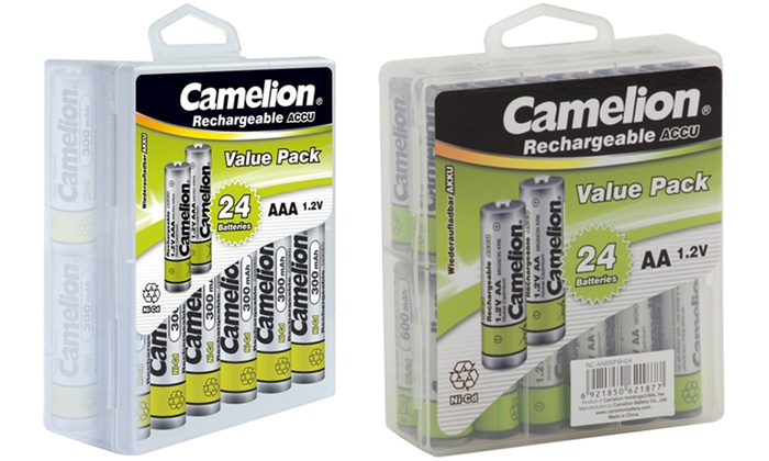 Up To 46 Off On Rechargeable Batteries 24 Pack Livingsocial Shop