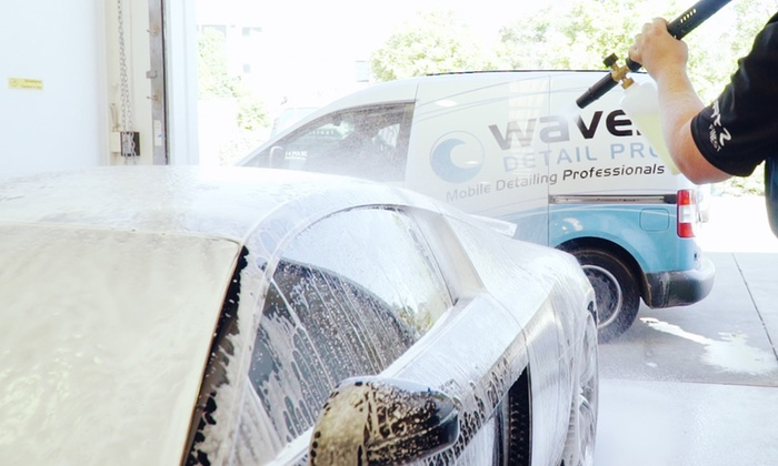 In And Out Car Detailing Package Waves Detail Pro Australia Groupon