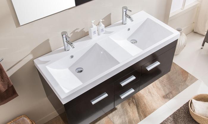 Vasques, meuble et miroirs | Groupon