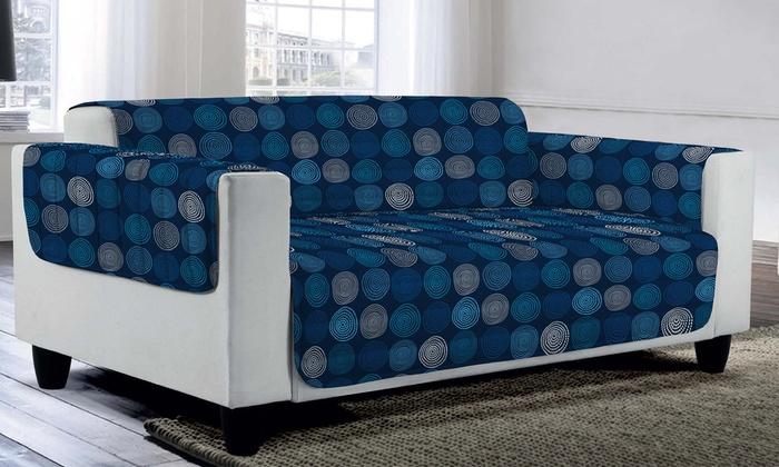 housse de canap matelass e 150cm groupon. Black Bedroom Furniture Sets. Home Design Ideas