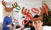 Christmas Reindeer Ring Toss Game