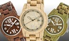 Earth Wood Heartwood Eco-Friendly Sustainable Wood Bracelet Watch