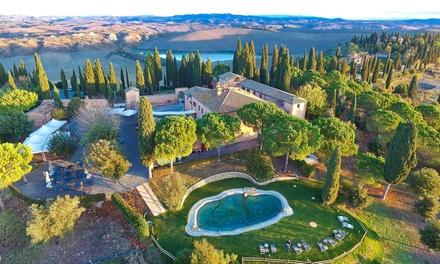 Castello in Toscana 4* L: soggiorno con Spa illimitata e cena Castello di Leonina Relais