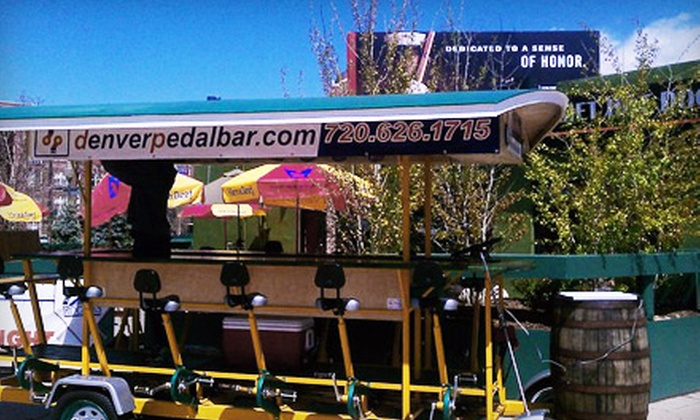 Omaha Patio Ride - Downtown: $30 for Two Seats on a Two-Hour Pedaling Pub Crawl from Omaha Patio Ride (Up to $60 Value)