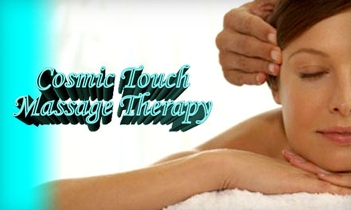 Cosmic Touch Massage Therapy - New Berlin: $15 for a Half Hour Massage at Cosmic Touch Massage Therapy ($30 Value)