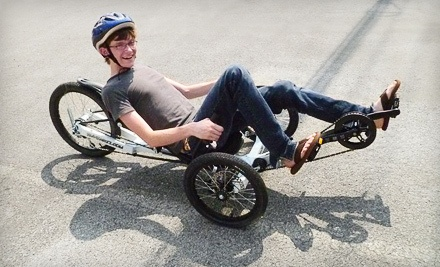 Half-Day Bike Recumbent Rentals for Two ($90 Value) - U-Man Power in Townsend