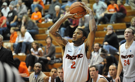 University of the Pacific Men's Basketball vs. University of Hawai'i Warriors on Tue., Dec. 6 at 7PM: Orange Section - University of the Pacific Men's Basketball in Stockton
