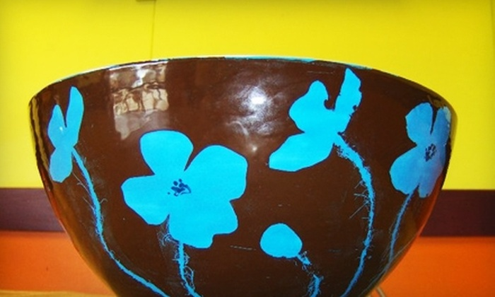 Crackpots - Longmont: $10 for $20 Worth of Pottery Painting at Crackpots in Longmont