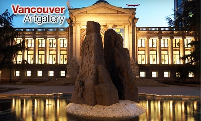 Vancouver Art Gallery - Downtown Vancouver: $10 for Admission, Express Entry, and 10% Off Gallery Store Purchases at Vancouver Art Gallery (Up to $22.50 Value)
