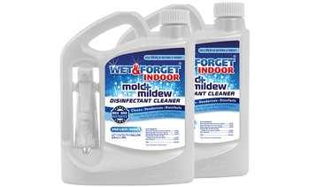 Wet & Forget Mold and Mildew Disinfectant Cleaner (64 Oz.; 2-Pack)
