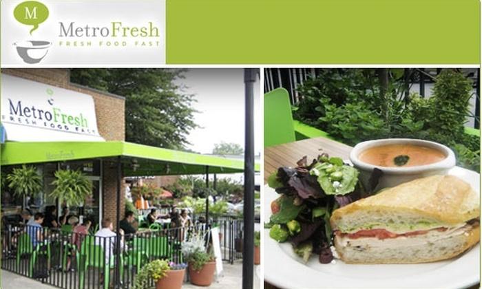 MetroFresh - Midtown: $15 for a $35 Groupon to MetroFresh Restaurant